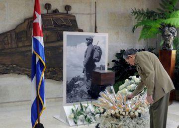 Cuba muestra por primera vez la urna que contiene las cenizas de Fidel Castro