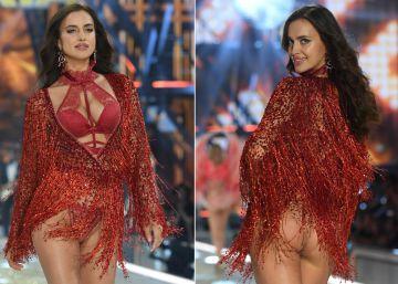 Irina Shayk desfila embarazada en Victoria's Secret