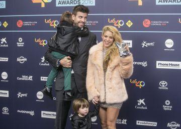 La alfombra azul de LOS40 Music Awards