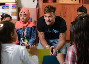 """Ricky Martin: """"Como padre y ser humano siento la necesidad de ayudar"""""""
