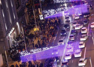 Cortes de tráfico en el centro de Madrid