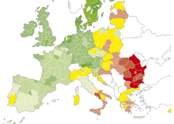 Progreso social en la UE en 2016