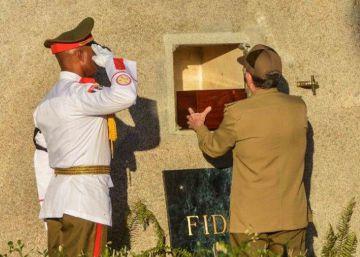 As cinzas de Fidel Castro repousam em Santiago de Cuba