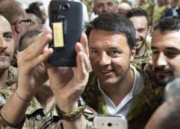 Matteo Renzi, su vida política en imágenes