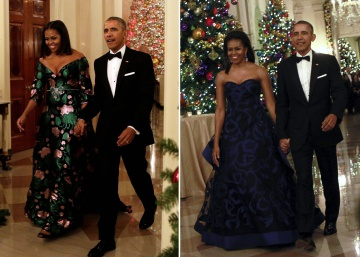 Los modelos de Michelle Obama en los Kennedy Center Honors