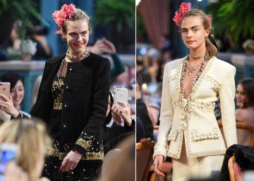 El regreso de Cara Delevingne a la pasarela de la mano de Chanel