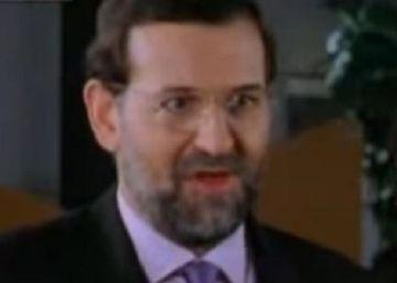 """""""Caramba"""", el día que Rajoy hizo de Rajoy en una serie de TVE"""
