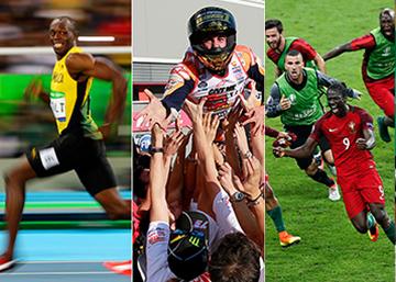 Las 30 mejores fotos de deportes del 2016