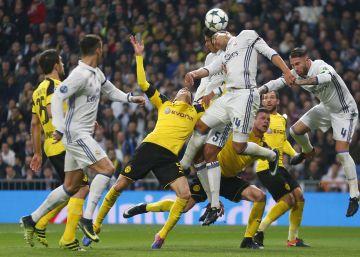 Real Madrid - Borussia Dortmund en imágenes