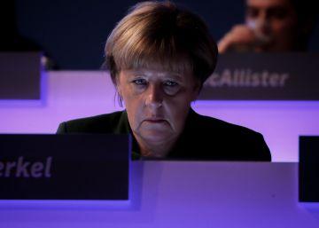 Una Merkel bajo presión