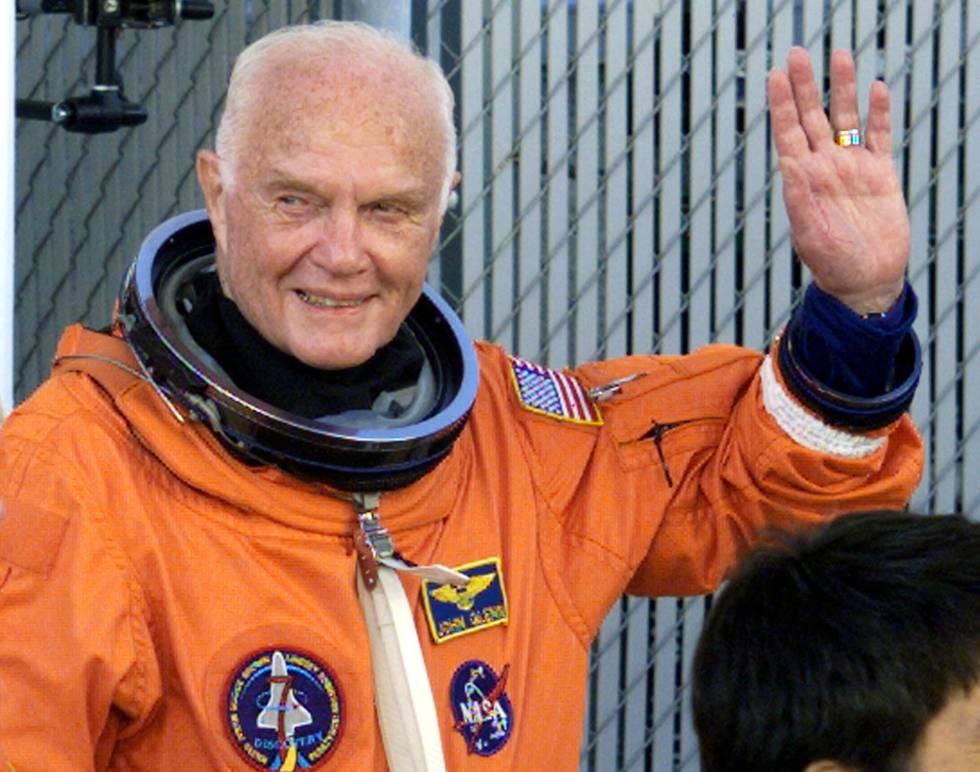 El astronauta John Glenn, que ha muerto a los 95 años