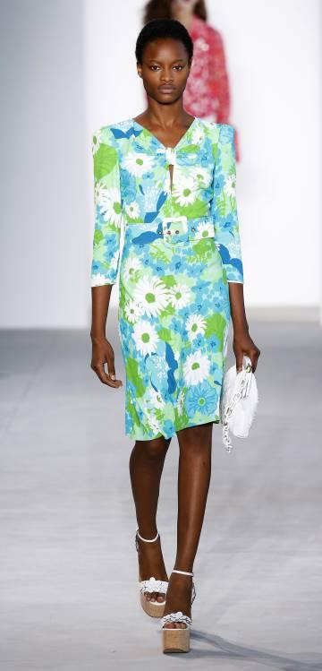 Vestido de la colección de primavera del año que viene de Michael Kors.