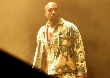 Kanye West reaparece teñido de rubio