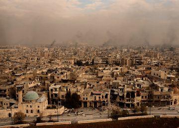 Así se ve Alepo a vista de dron tras el avance del régimen sirio