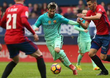 Osasuna - Barcelona, las imágenes del partido