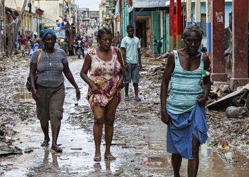 Reparar un daño en Haití