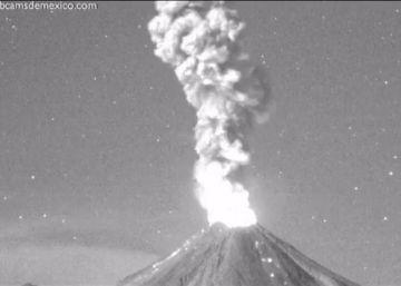 El 'Volcán de Fuego' despierta
