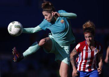 Atlético de Madrid - Barcelona, el fútbol femenino en imágenes