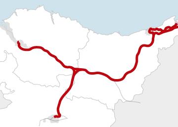 Estado de las obras de la 'Y' vasca ferroviaria