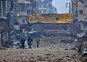 A retirada dos moradores de Aleppo