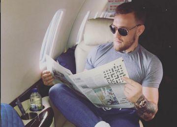 Conor McGregor, a punto de fichar por 'Juego de tronos', publica una foto desconcertante