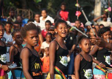 Arte y música para la infancia de Madagascar