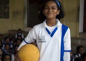 Las chicas poderosas del fútbol indio