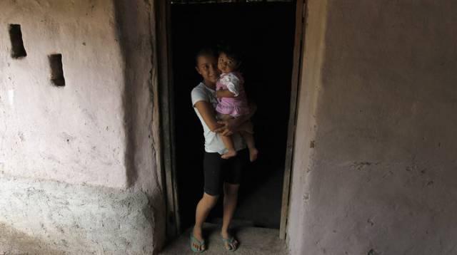 Una madre y su bebé (Honduras).