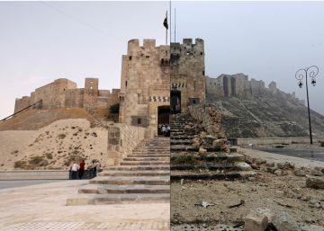 Aleppo, antes e depois da guerra