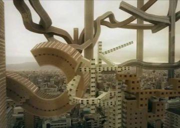 Un artista sueco crea una versión surrealista en 3D de Osaka
