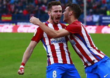 Atlético de Madrid - Las Palmas, en imágenes