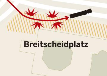 El recorrido del camión en el atentado de Berlín