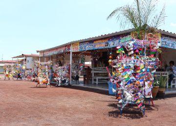 Así era el mercado de Tultepec