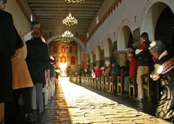 Así ilumina el solsticio de invierno las misiones españolas en América