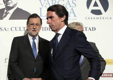 Aznar vuelve a dividir