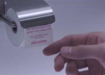 Papel higiénico para móviles