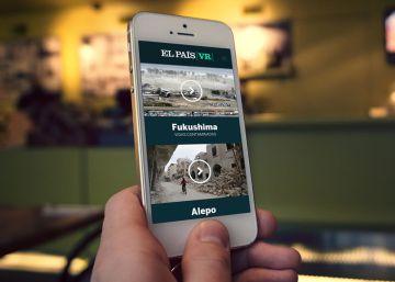 Google Play elige a EL PAÍS VR como una de las 'apps' más innovadoras de 2016