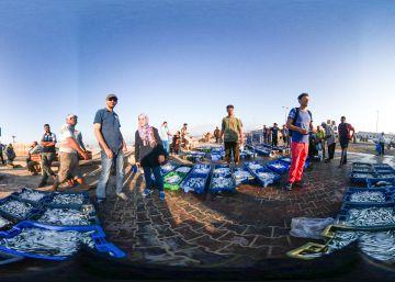 Hacerse a la mar con los pescadores de Gaza