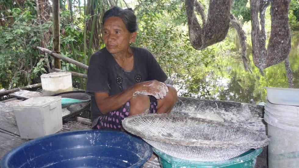 Rosa Andrade, a última mulher que falava resígaro, foi assassinada em novembro, na Amazônia peruana.