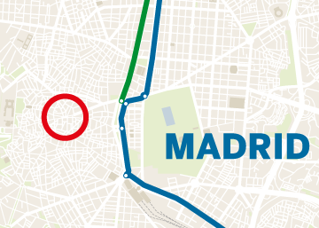 Dispositivo extraordinario de seguridad en Madrid