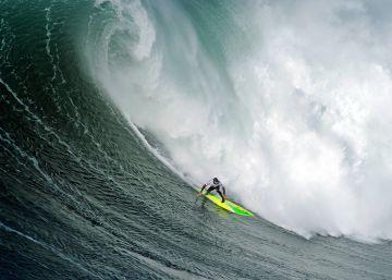 Desafío a la gran ola de Nazare