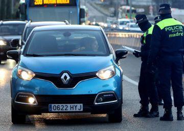 Restricciones de tráfico en Madrid por la contaminación