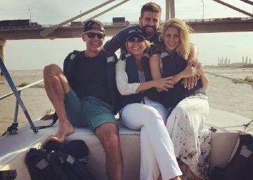 Shakira y su familia se despiden de Barranquilla