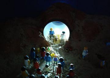 Jesús nace en la frontera de México