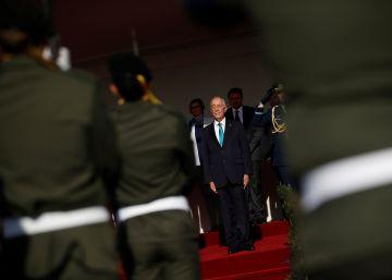 La hiperactividad del presidente de Portugal