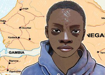 La infancia rota de Ibrahima