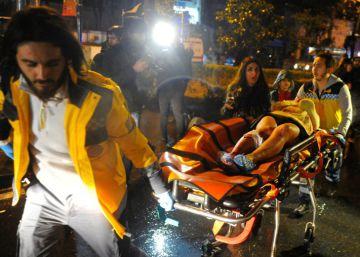 As imagens do atentado em uma boate de Istambul