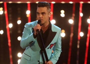 Robbie Williams se burla del incidente del desinfectante de manos