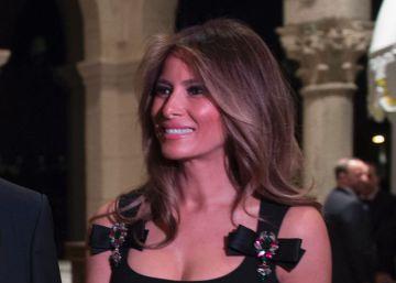 Dolce & Gabbana sí viste a Melania Trump