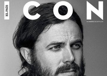 Casey Affleck, que simplemente se gana la vida como actor, en la portada de ICON de enero